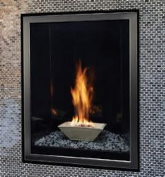 Forest Hills Portrait-Style Contemporary D.V. Fireplace
