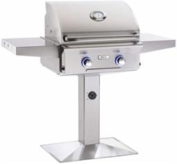"American Outdoor Grills 24"" Patio Post NG Gas Grill"