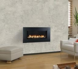 Artisan 42 Inch Vent Free Linear Fireplace