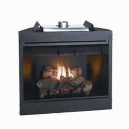 Keystone 36 Inch Deluxe B-Vent Fireplace