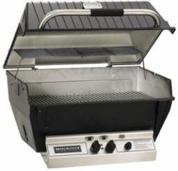 Broilmaster Deluxe Gas Grill w/SS Single-Level Grids
