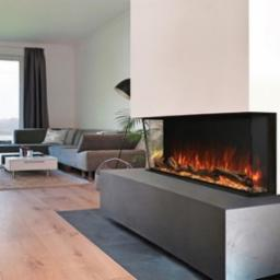 Landscape Pro 96 Inch Multi Sided Built In Electric Fireplace