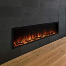 Landscape Pro 68 Inch Slim Built In Electric Fireplace