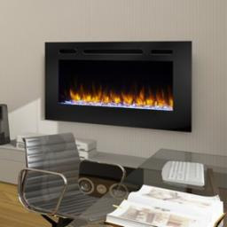 Allusion 40 Inch Electric Recessed Fireplace