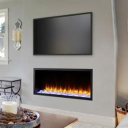 Scion 43 Inch Clean Face Electric Fireplace