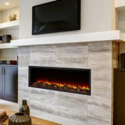 Scion 55 Inch Clean Face Electric Fireplace