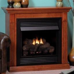 Vail 26 Inch Vent Free Fireplace
